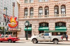 Philadelphia i stadens centrum Hard Rock Cafe Royaltyfri Bild