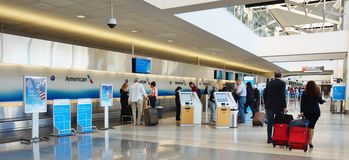 The Philadelphia International Airport (PHL) Royalty Free Stock Photos