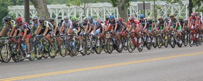 Philadelphia International Cycling Championship Royalty Free Stock Image