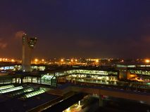 Philadelphia internationell flygplats fotografering för bildbyråer
