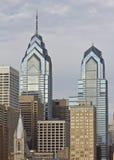 Philadelphia Liberty I and Liberty II royalty free stock image