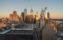 philadelphia linia horyzontu Fotografia Stock
