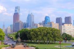 philadelphia linia horyzontu zdjęcia stock
