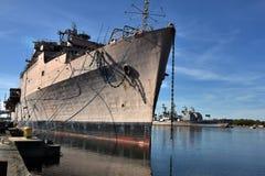 Philadelphia-Marine-Werft Lizenzfreies Stockbild