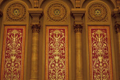 Philadelphia Masonic Temple. Interior in Pennsylvania: Nov. 22, 2015 royalty free stock images