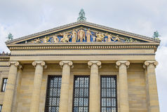 Philadelphia-Museum von Art Architectural Detail stockbild