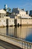 philadelphia nadbrzeże rzeki Fotografia Royalty Free
