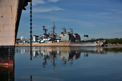 Philadelphia Navy Shipyard Pennsylvania. Royalty Free Stock Photography
