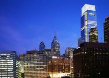 Philadelphia at Night Stock Photography