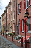 Philadelphia old city, luxuries houses. Royalty Free Stock Photography