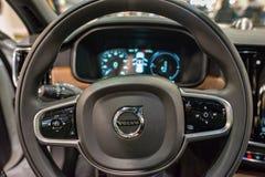 PHILADELPHIA, PA - 3 de febrero: Volvo en el salón del automóvil 2018 de Philadelphia Fotografía de archivo libre de regalías