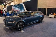 PHILADELPHIA, PA - 3 de febrero: Volvo en el salón del automóvil 2018 de Philadelphia Foto de archivo