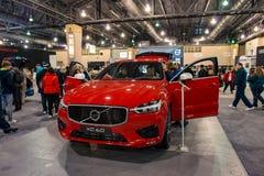 PHILADELPHIA, PA - 3 de febrero: Volvo en el salón del automóvil 2018 de Philadelphia Fotografía de archivo