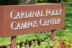 PHILADELPHIA, PA - 17 DE MAYO: Campus universitario del ` s de Saint Joseph el graduación día el 17 de mayo de 2014 Imagen de archivo libre de regalías