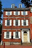 Philadelphia PA: Det Powel huset Arkivfoto