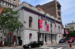 Philadelphia, PA: Historic Walnut Street Theatre Royalty Free Stock Photography