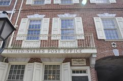 Philadelphia, PA, 3 Juli: Postkantoor van Philadelphia in Pennsylvania de V.S. Stock Foto's