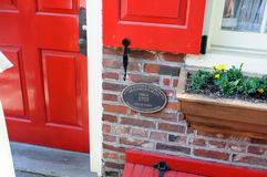 Free PHILADELPHIA, PA - MAY 14: The Historic Old City In Philadelphia, Pennsylvania. Elfreth`s Alley, Referred To As The Royalty Free Stock Photos - 95863298