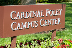 PHILADELPHIA, PA - 17 MEI: De Universitaire campus van Saint Joseph ` s op graduatie dag 17 Mei, 2014 Royalty-vrije Stock Afbeelding
