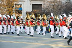 Philadelphia, PA - November 23, 2017: Annual Thanksgiving Day Parade in Center City Philadelphia, PA Royalty Free Stock Images