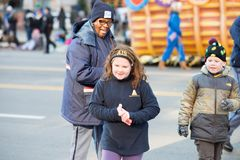 Philadelphia, PA - November 23, 2017: Annual Thanksgiving Day Parade in Center City Philadelphia, PA Royalty Free Stock Photos