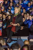 PHILADELPHIA, PA - OCTOBER 22, 2016: Hillary Clinton and Tim Kaine campaign for President and Vice-President of the United States  Royalty Free Stock Photography