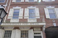 Philadelphia PA, 3rd Juli: Stolpe - kontor från Philadelphia i Pennsylvania USA Arkivfoton