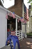 Philadelphia, PA, 3rd July: Betsy Ross House Courtyard from Philadelphia in Pennsylvania USA. Betsy Ross House Courtyard from Philadelphia in Pennsylvania USA on Royalty Free Stock Photography