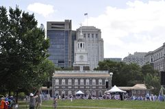 Philadelphia,PA, 3rd July: Independence Hall on City Celebration of Philadelphia in Pennsylvania USA Stock Photography