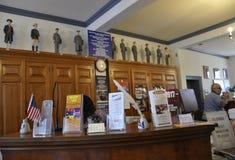 Philadelphia, PA, 3rd July: Post Office interior from Philadelphia in Pennsylvania USA Royalty Free Stock Photography