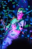 PHILADELPHIA PA - SEPTEMBER 20: Den reko musikbandet går utför i Philadelphia på September 20, 2014 Arkivfoton