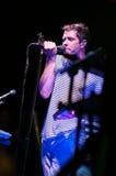 PHILADELPHIA PA - SEPTEMBER 20: Den reko musikbandet går utför i Philadelphia på September 20, 2014 Royaltyfri Fotografi