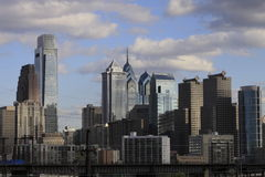 Philadelphia PA skyline Stock Photo