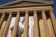 Fabulous Fashion exhibit at the Philadelphia Museum of Art royalty free stock photo