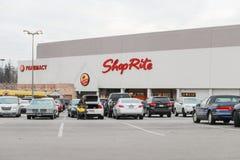Shop rite store. Philadelphia, Pennsylvania January 1 2017 Shop rite store Royalty Free Stock Photos