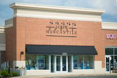 J.Crew Mercantile storefront royalty free stock photography