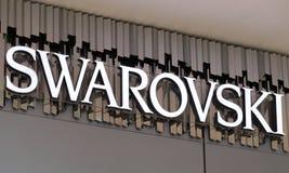 Swarovski in Philadelphia. Philadelphia, Pennsylvania, May 19 2018: Swarovski in Philadelphia. Swarovski is an Austrian Crystal manufacturer produces crystal Stock Photos