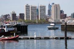 Philadelphia, Pennsylvania - Mei 2, 2018: Mening van Philadelph stock foto's