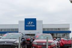 Hyundai Motor Company Dealership. Philadelphia, Pennsylvania, September 8, 2018:Hyundai Motor Company Dealership. Hyundai is a South Korean Multinational royalty free stock photos