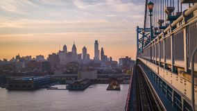 Philadelphia Pennsylvania Skyline stock video