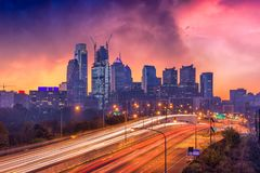 Philadelphia, Pennsylvania Skyline royalty free stock photography