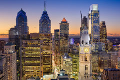 Philadelphia, Pennsylvania Skyline. Philadelphia, Pennsylvania, USA downtown skyline Royalty Free Stock Photography