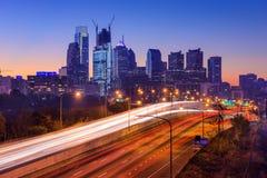 Philadelphia, Pennsylvania Skyline Royalty Free Stock Photos