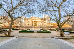 Philadelphia, Pennsylvania, USA - Dezember 2018 - Rodin Museum in Philadelphia lizenzfreies stockfoto