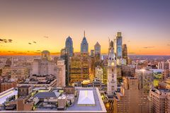 Philadelphia, Pennsylvania, USA Center City stock images