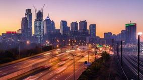 Philadelphia, Pennsylvania Skyline stock video footage