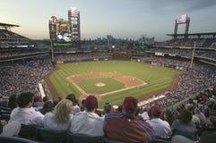 Philadelphia Phillies contra Milwaukee Brewers Imagen de archivo libre de regalías