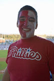 Philadelphia Phillies fan Royalty Free Stock Image