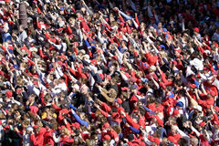 Philadelphia Phillies fans Stock Images