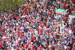 Philadelphia Phillies fans Royalty Free Stock Photography